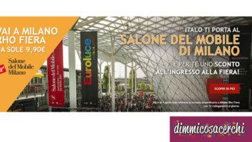 Sconto Salone del Mobile con Italo Treno