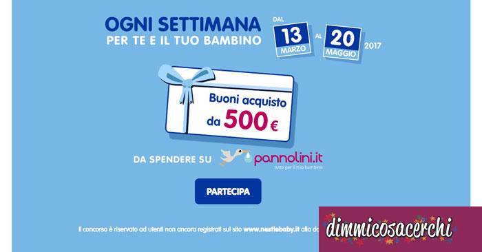 Vinci 500€ di shopping con Nestlè