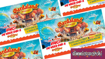 Vinci un weekend a Gardaland con Kinder