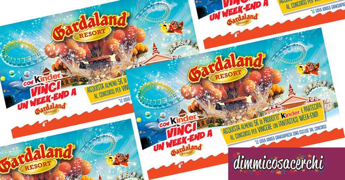 Vinci un weekend a Gardaland con Kinder