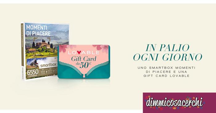 Concorso Lovable, vinci subito gift card da 50€