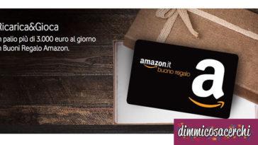 Vinci buoni Amazon con le ricariche Vodafone