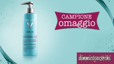 Campione omaggio Dercos Shampoo Ultra Lenitivo Capelli Colorati