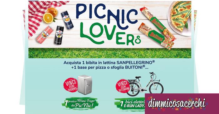 Concorso PicNic Lovers: vinci mini frigo e biciclette elettriche