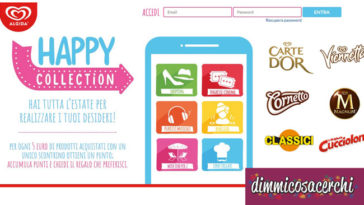 "Raccolta punti Algida ""Happy Collection"""