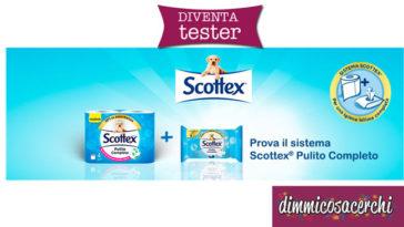 Testamus: prova la Carta igienica umidificata Scottex