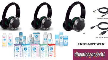 Vinci cuffie Panasonic con il concorso Infasil