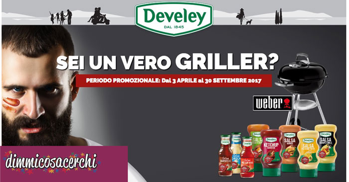 Concorso Develey: vinci 26 Barbecue Weber Compact Kettle