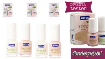 Diventa tester del set Nivea per manicure French