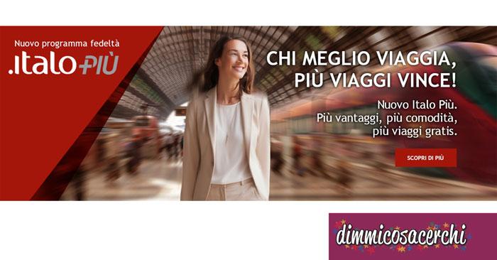 Programma fedeltà Italo Più 2017/2019