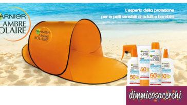 Ambre Solaire ti regala la tenda da spiaggia!