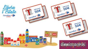 Autan, Raid e Baygon ti premiano con un buono spesa Carrefour da 50€