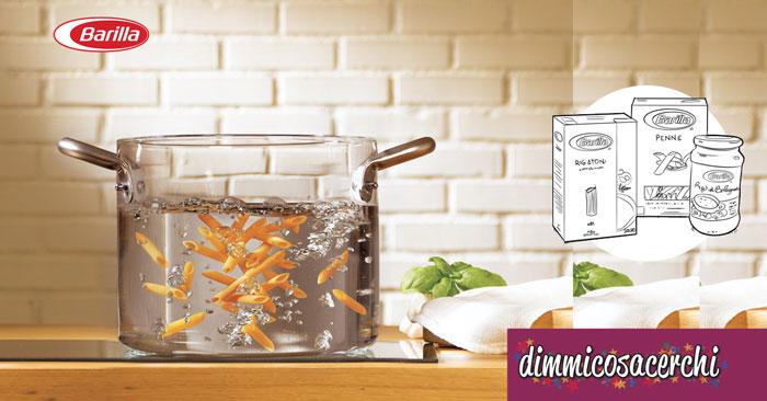 Concorso Barilla: vinci pentola Glasspot® in vetro temperato