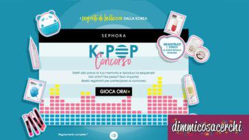 Concorso Sephora: registrati e vinci carte regalo