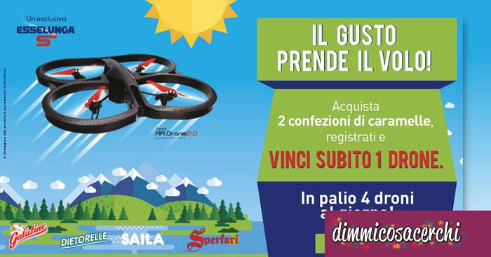 Esselunga: vinci subito 1 Drone Parrot 2.0