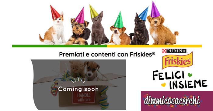 Friskies App&Regali: ricevi bellissimi premi