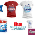 """In regalo la T-Shirt con Dixan """"Pulito e Liscio"""""""