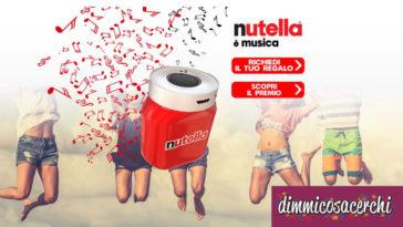 Nutella è musica: richiedi la cassa omaggio
