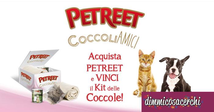 Petreet: vinci il kit delle coccole