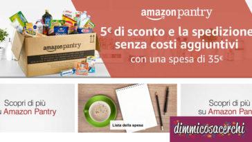 Promozione Amazon Pantry con spedizione gratuita