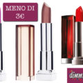 Rossetti Maybelline New York Color Sensational a meno di 3€!