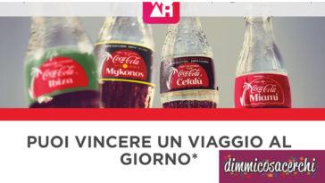 Vinci un viaggio con Coca-Cola