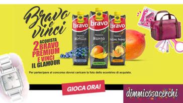 Concorso Bravo e Vinci: in palio beauty case e orologi