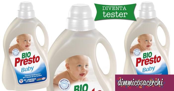 Diventa tester Bio Presto Baby su Donnad
