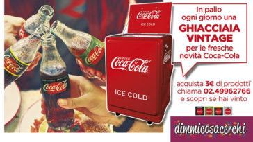 Vinci una ghiacciaia vintage con Coca‑Cola