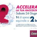 Bolle Acqua&Sapone: valgono doppio il 24!