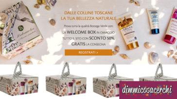 Bottega Verde: nuova welcome box 2017