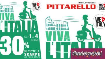 """Buono sconto Pittarello """"W L'Italia"""""""