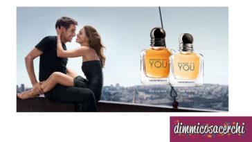 Campioni omaggio profumo Armani per donna e uomo