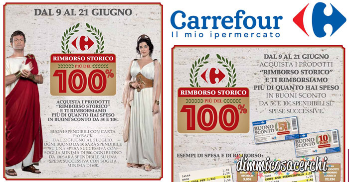 "Carrefour ""Rimborso Storico"""
