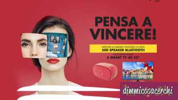 Concorso Gallerie Auchan: vinci Speacker e LG Smart TV