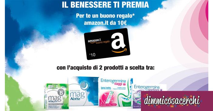 Il benessere ti premia con un buono Amazon