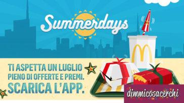 Mc Donalds Summerdays