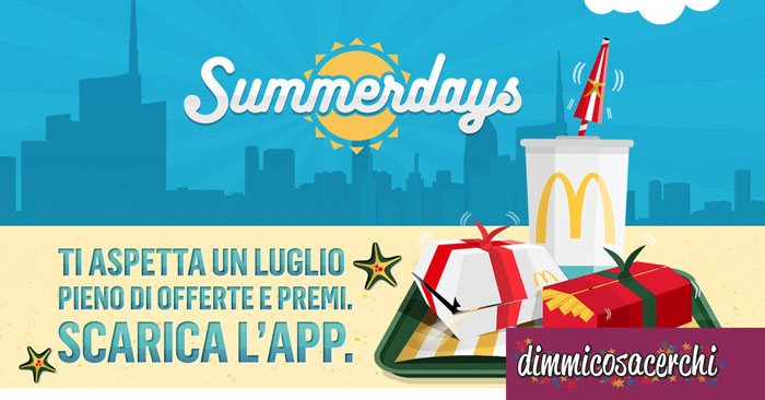 Mc Donalds Summerdays