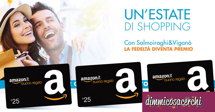 Salmoiraghi&Viganò ti regala un buono Amazon