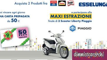 Vinci scooter e carte prepagate con Henkel e Esselunga