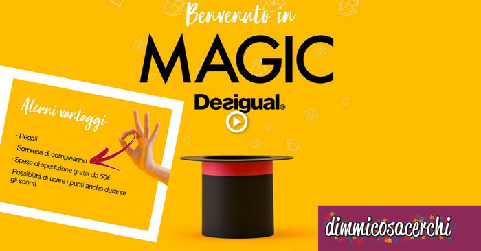 Programma fedeltà Magic Desigual
