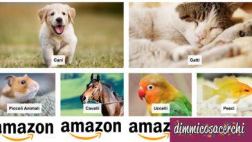 Prodotti per animali domestici su Amazon
