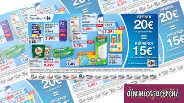 Spendi e Riprendi da Carrefour con i prodotti P&G