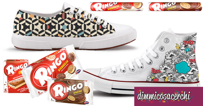Ringo ti regala le scarpe personalizzate