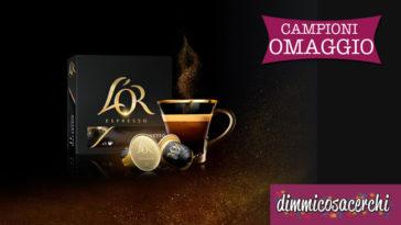 Campioni omaggio capsule di caffè L'Or