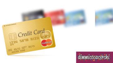 Carte di credito online senza conto corrente