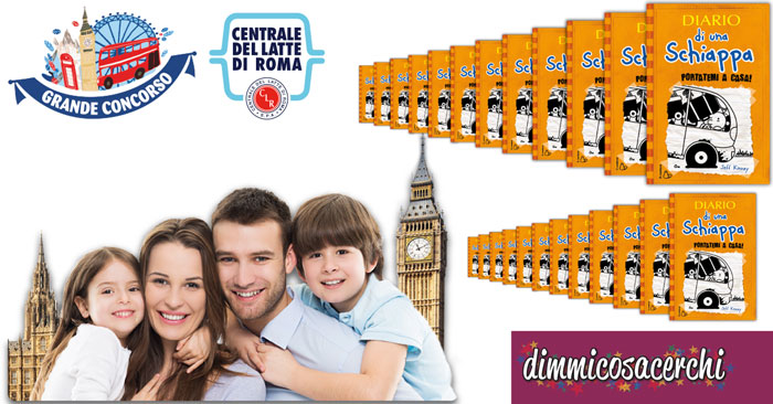 Centrale del latte di Roma: vinci Londra e 100 libri