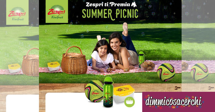 Concorso Zespri Summer Picnic