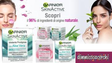 Diventa tester crema viso Garnier SkinActive