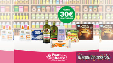 Klikkapromo: coupon olio Dante, Pettinicchio, Berni, Morato e altri!